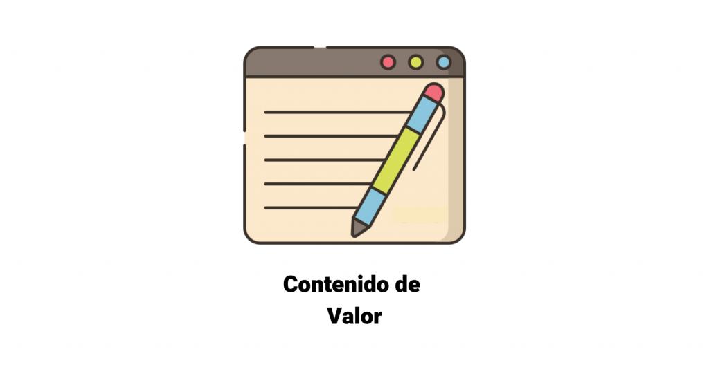 Definición de contenido de valor