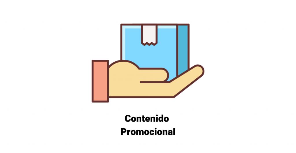 Definición de contenido promocional